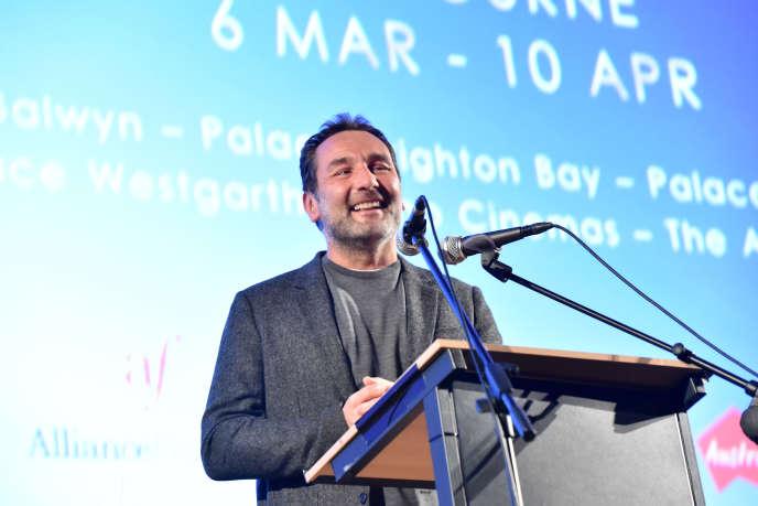 L'acteur et réalisateur Gilles Lellouche au French Film Festival à Melbourne, le 6 mars 2019.
