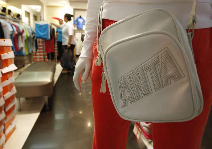 Dans un magasin Anta Sports, à Pékin, en aôut 2013.
