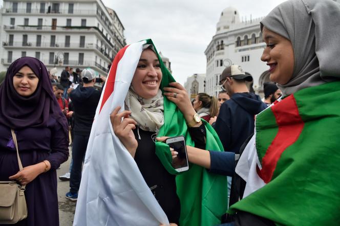 A Alger, le 8 mars.