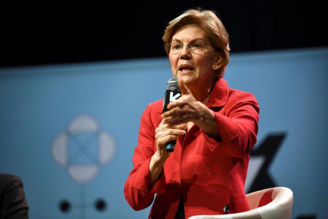 La sénatrice Elizabeth Warren, le 9 mars au festival South by Southwest d'Austin, au Texas.