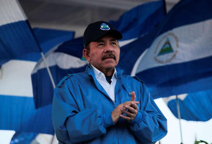 Le président du Nicaragua Daniel Ortega à Managua, le 5 septembre 2018.