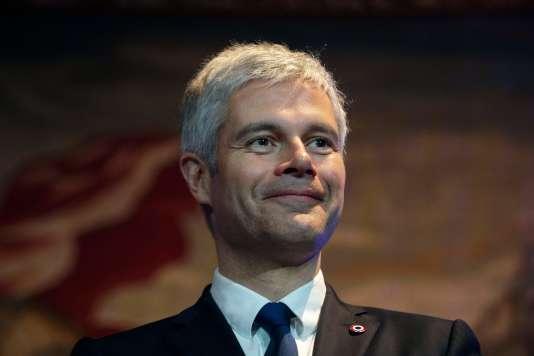 Laurent Wauquiez, le 14 janvier à Lyon.