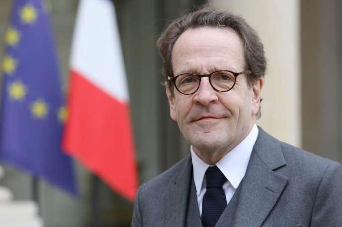 Gilles Le Gendre, président du groupe La République en marche à l'Assemblée nationale, le 4 février au palais de l'Elysée, à Paris.