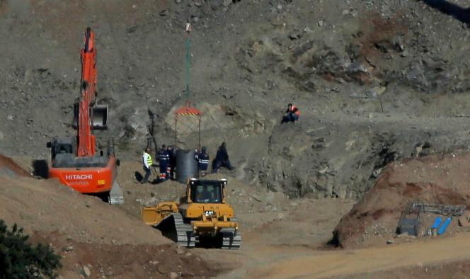 Un enfant de 2ans est tombé dans un puits illégal et non signalisé au milieu des monts de Totalan (Espagne), le 24 janvier.