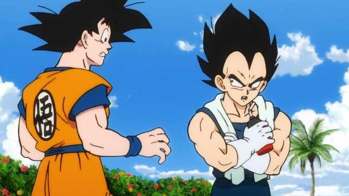 Les deux héros de« Dragon Ball Super: Broly».