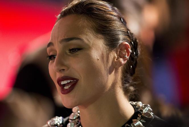 L'actrice Gal Gadot, lors de la première du film « Wonder Woman» en Amérique latine, le 27 mai 2017, à Mexico.