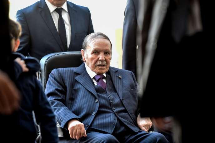 Le président algérien Abdelaziz Bouteflika, à Alger, en novembre 2017.