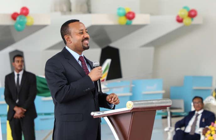 Le premier ministre éthiopien, Abiy Ahmed, à Addis-Abeba, le 27 janvier 2019.