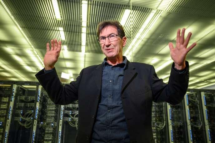 François Flückiger est informaticien au Cern. Ici à Meyrin, près de Genève, le 29 janvier.