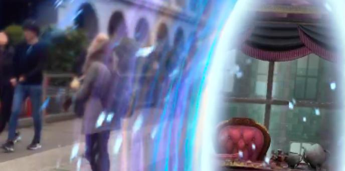 Les portoloins permettent de mettre un pied dans l'univers d'« Harry Potter».