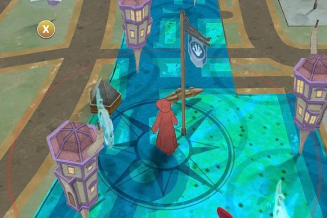 Comme« Pokémon Go» ou« La Carte aux trésors» avec Sylvain Augier,« Wizards Unite» se joue avec un plan.