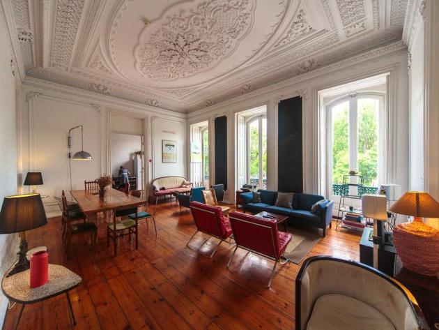 Une auberge de jeunesse dans un ancien palais !