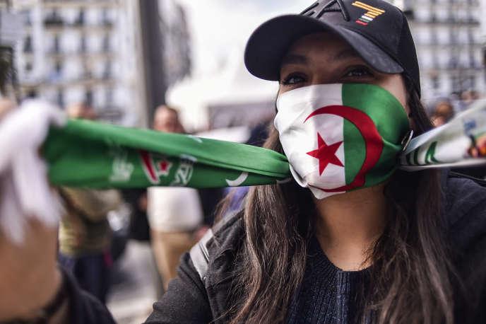 Manifestation à Alger, le 10 mars.