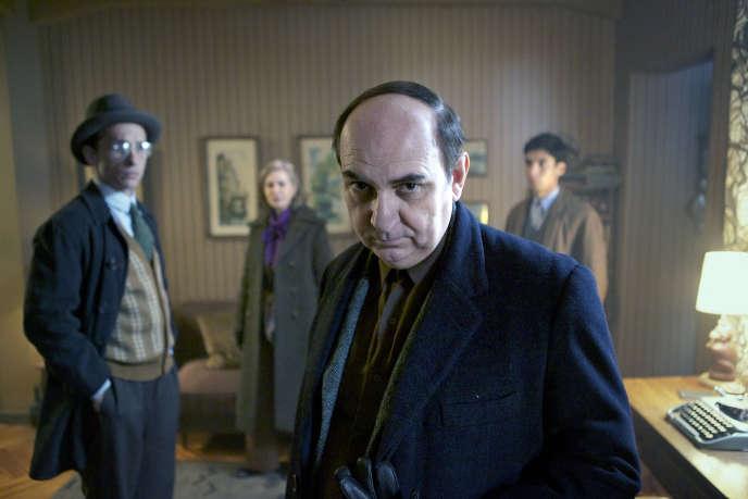 Luis Gnecco dans le rôle de Neruda.