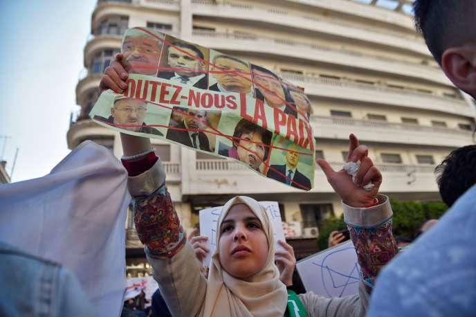 Manifestation à Alger, le 12 mars.