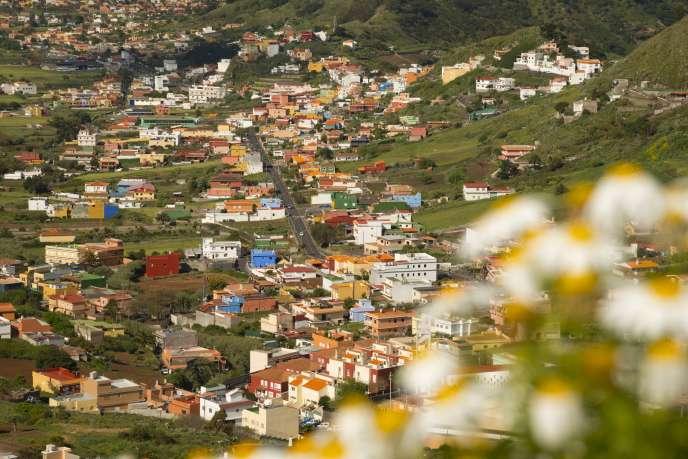 Vue de San Cristobal de La Laguna, Tenerife (Iles Canaries).