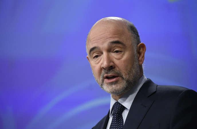 Le commissaire européen aux affaires économiques et monétaires, Pierre Moscovici, à Bruxelles, le 27 février.