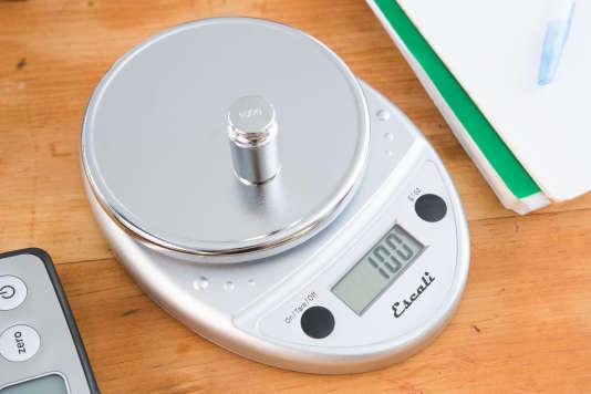Lors de nos tests, l'Escali a pesé avec précision quasiment tous nos poids de contrôle au gramme près.