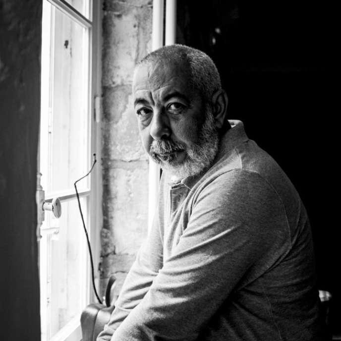 L'écrivain cubain Leonardo Padura, à Paris en 2016.