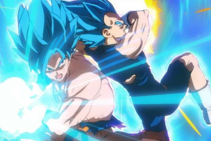 Une image extraite du film d'animation japonais de Tatsuya Nagamine,«Dragon Ball Super : Broly».