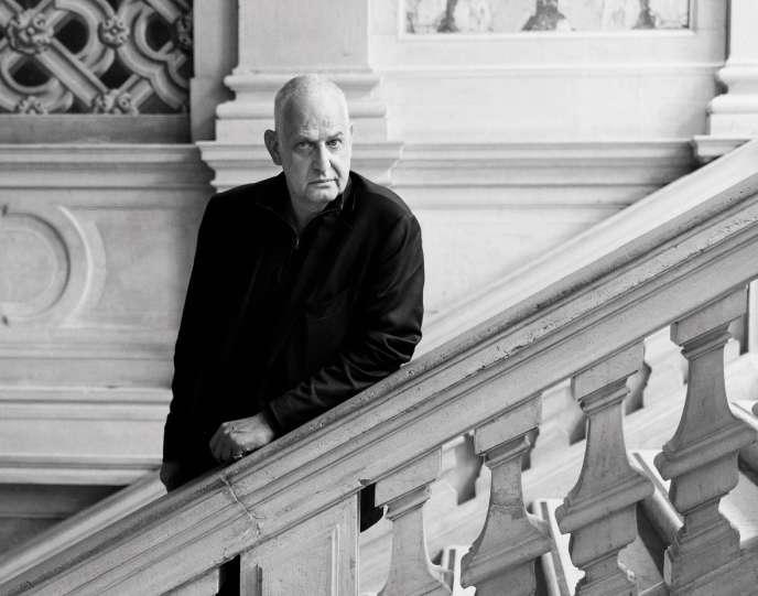 Luc Tuymans au Palazzo Grassi à Venise, en février 2019.
