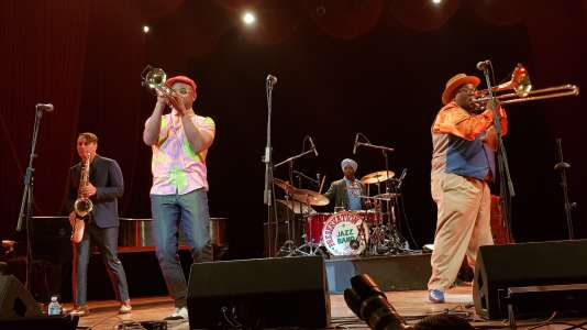 Le Preservation Hall Jazz Band au festival Jazz Plaza (La Havane),le 17 janvier 2019