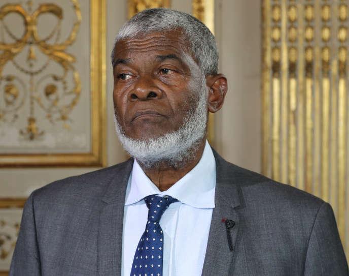 Le président du conseil départemental Soibahadine Ibrahim Ramadani, à Matignon, le 29 juin 2018.