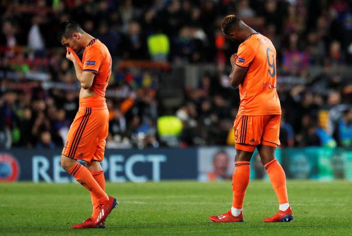 Les Lyonnais ont été écrasés 5 à 1 mercredi soir par le Barça en 8e de finale de Ligue des champions.