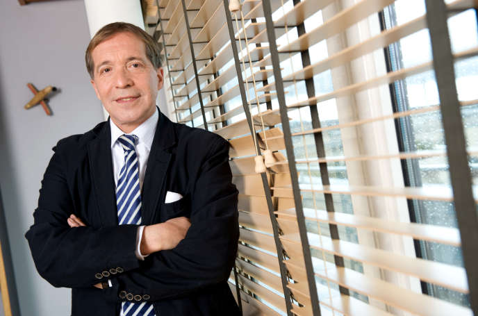 Pierre Chevalier, dans son bureau, en 2009.