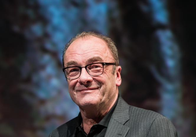 L'écrivain autrichien Robert Menasse, en janvier 2019.