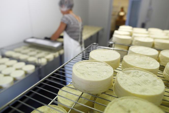 La fabrication du Camembert de Normandie AOP répond à des critères stricts.