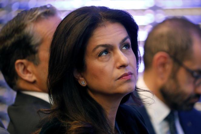 Mouna Sepehri à Paris en 2017.