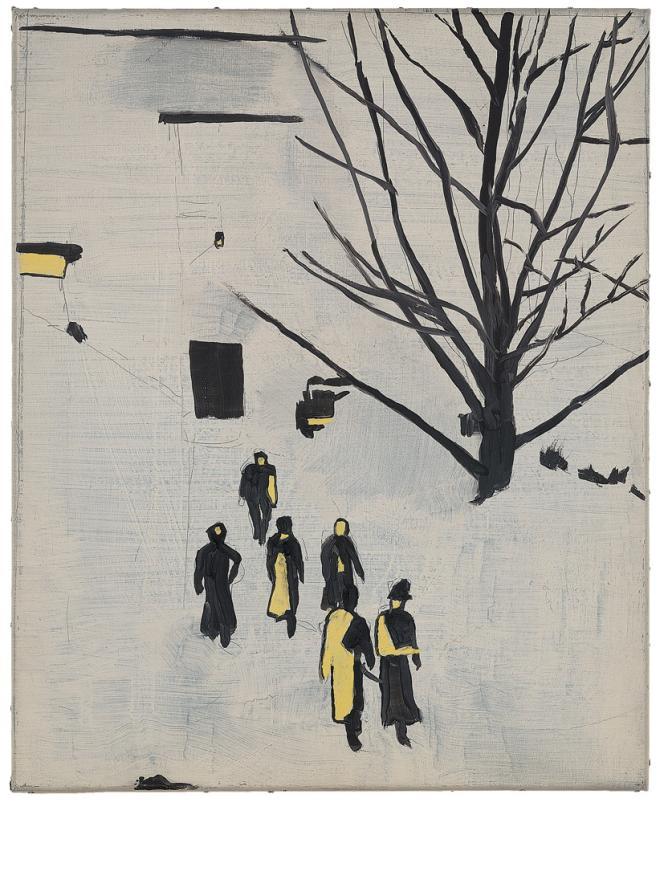 «Wandeling» (1989) a été créé à partir d'une image de dignitaires nazis en promenade.