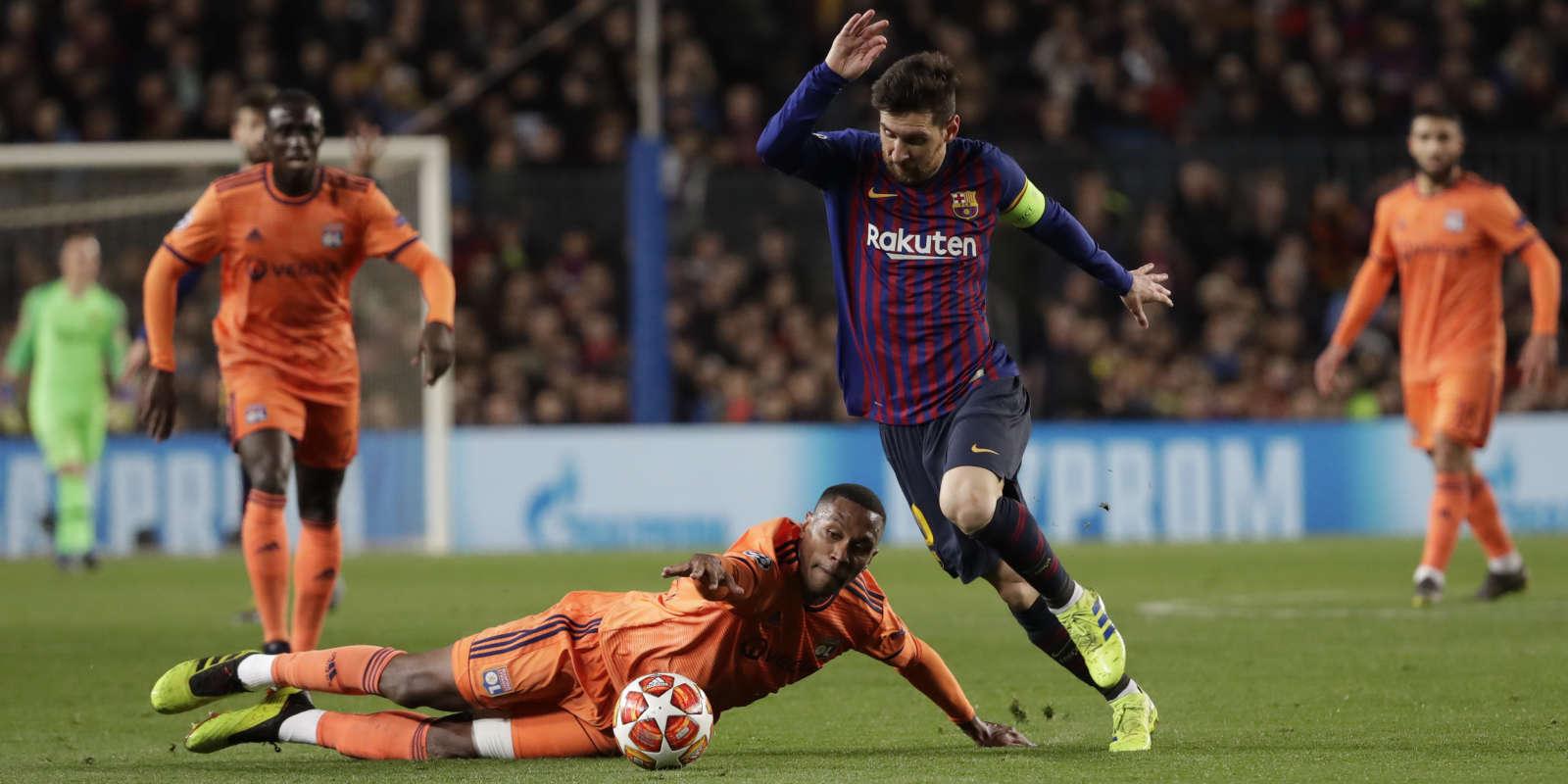 Messi a assommé Lyon, mercredi.