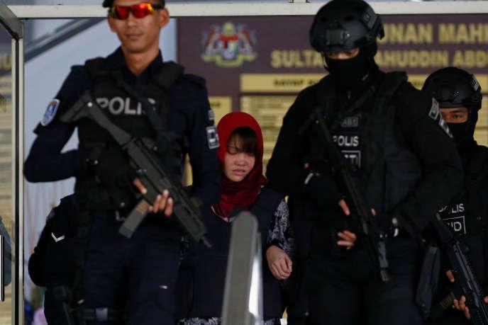 La Vietnamienne Doan Thi Huong quitte le tribunal Shah Alam à Kuala Lumpur, le 14 mars.