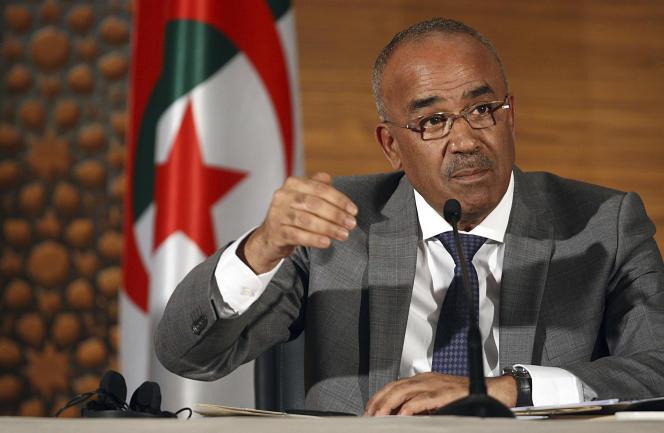 Noureddine Bedoui a été nommé premier ministre en remplacement d'Ahmed Ouyahia le 11 mars.