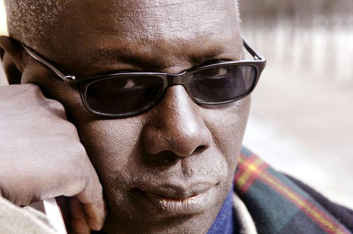 L'écrivain sénégalais Boubacar Boris Diop, à Paris, le 15mars 2006.