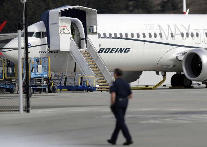 Depuis le crash d'Ethiopian Airlines, le géant américain de l'aéronautique Boeing doit affronter les critiques. Ted S. Warren / AP