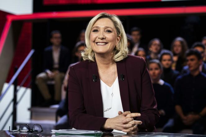 Marine Le Pen a livré plusieurs contre-vérités au cours de «L'Emission politique» jeudi14 mars.
