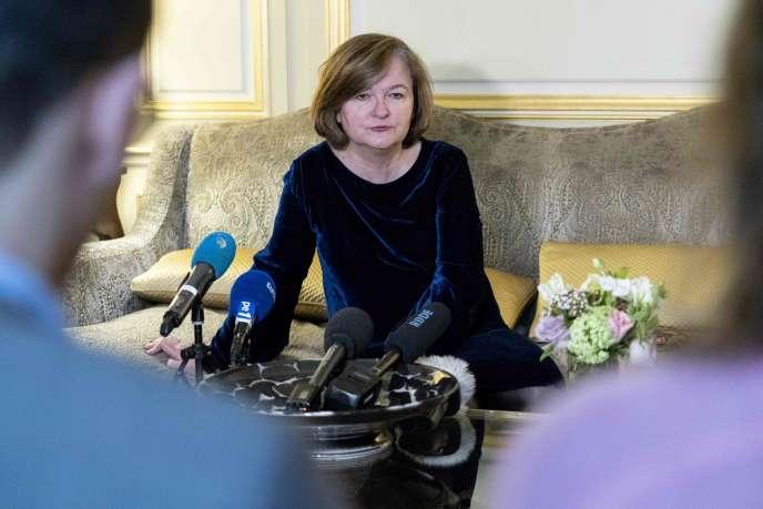 Nathalie Loiseau, ministre des affaires européennes, le 7mars à Londres.