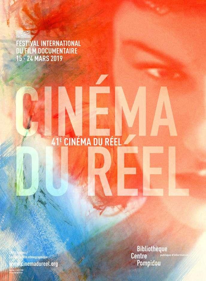 L'affiche de l'édition 2019 du festival Cinéma du réel.
