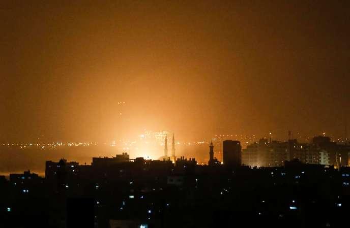 A Gaza, le 14 mars.