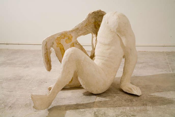 Thomas Houseago, «Sitting nude» (2006).