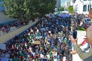 Manifestation à Annaba (Algérie), le 15 mars 2019.