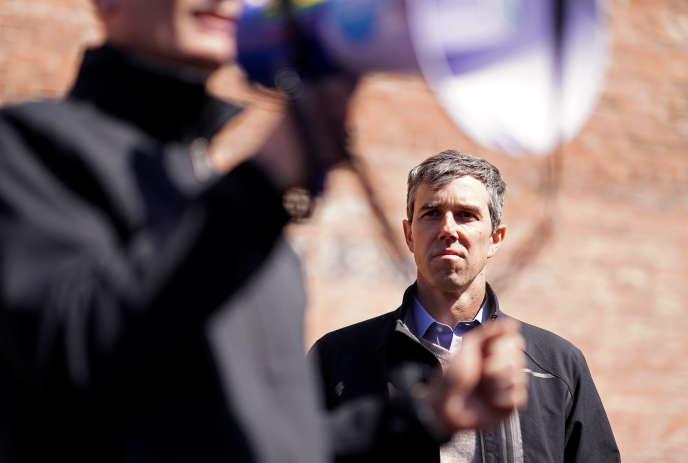 Le candidat à l'investiture démocrate Beto O'Rourke le 16 mars à Waterloo, dans l'Iowa.