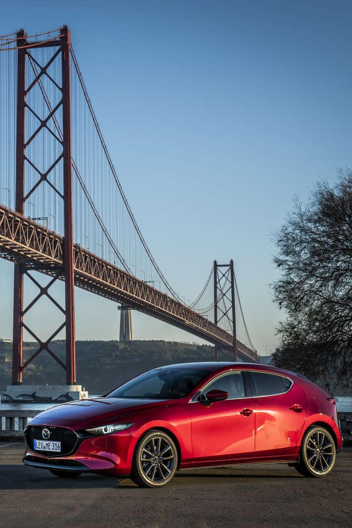 La Mazda 3.