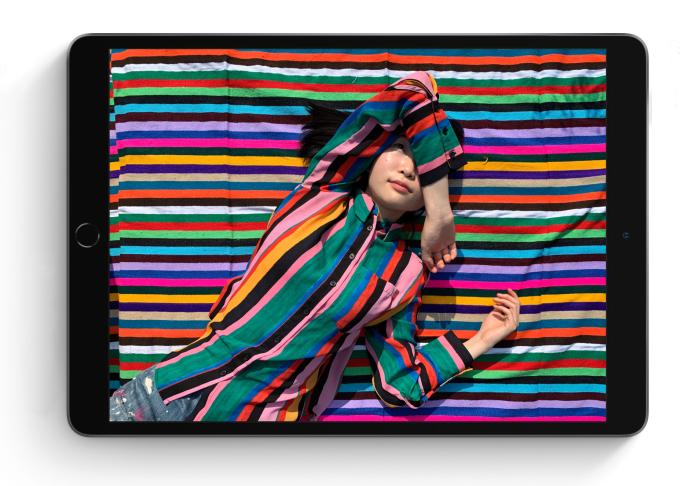 Le nouvel iPad Air embarque un écran de 10,5 pouces de diagonale.