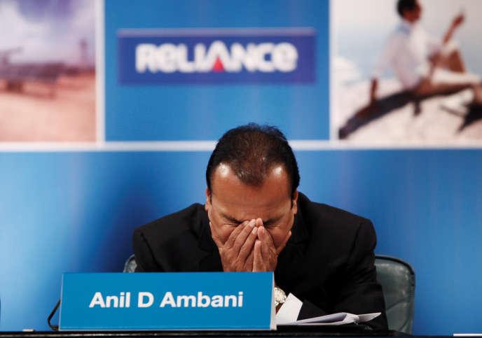 Индиянын Өнөр жай сентябрда 2012 жылы Anil мейкиндиги.