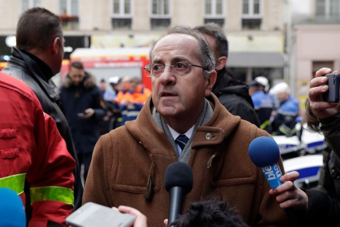 Le préfet de police de Paris, Michel Delpuech, ici le 12 janvier 2019 à Paris, a été limogé le 18 mars.