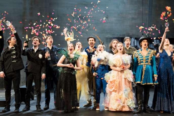 «La Chauve-Souris», de Johann Strauss. Avec les musiciens et chanteurs en résidence à l'Académie de l'Opéra national de Paris.